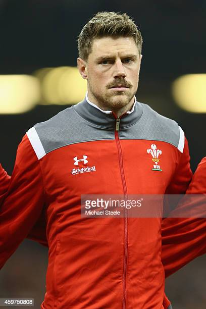 Rhys Priestland of Wales during the International match betwwen Wales and South Africa at the Millennium Stadium on November 29 2014 in Cardiff Wales
