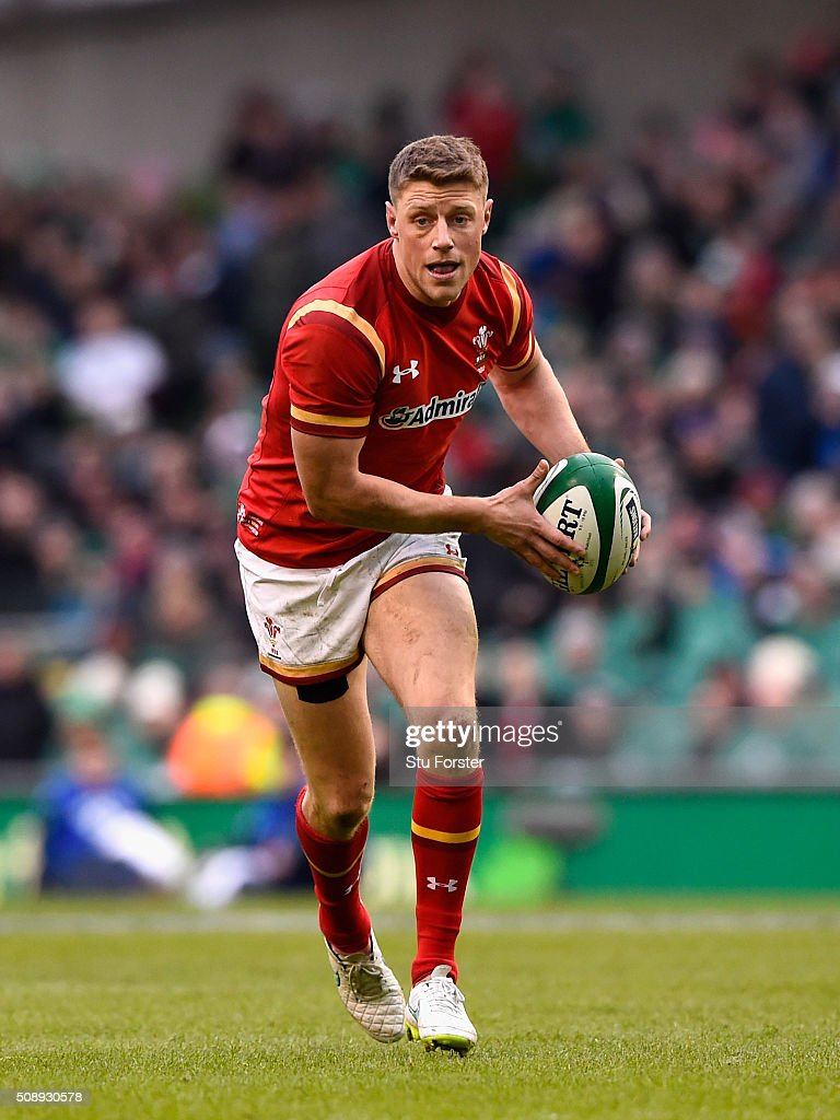 Rhys Priestland of Wales in action during the RBS Six Nations match between Ireland and Wales at the Aviva Stadium at Aviva Stadium on February 7, 2016 in Dublin, Ireland.