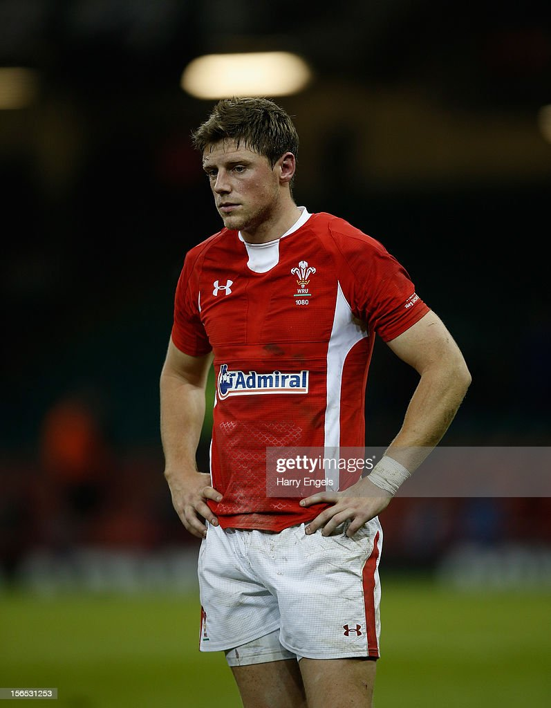 <a gi-track='captionPersonalityLinkClicked' href=/galleries/search?phrase=Rhys+Priestland&family=editorial&specificpeople=4195648 ng-click='$event.stopPropagation()'>Rhys Priestland</a> of Wales looks dejected after the international match between Wales and Samoa at the Millennium Stadium on November 16, 2012 in Cardiff, Wales.