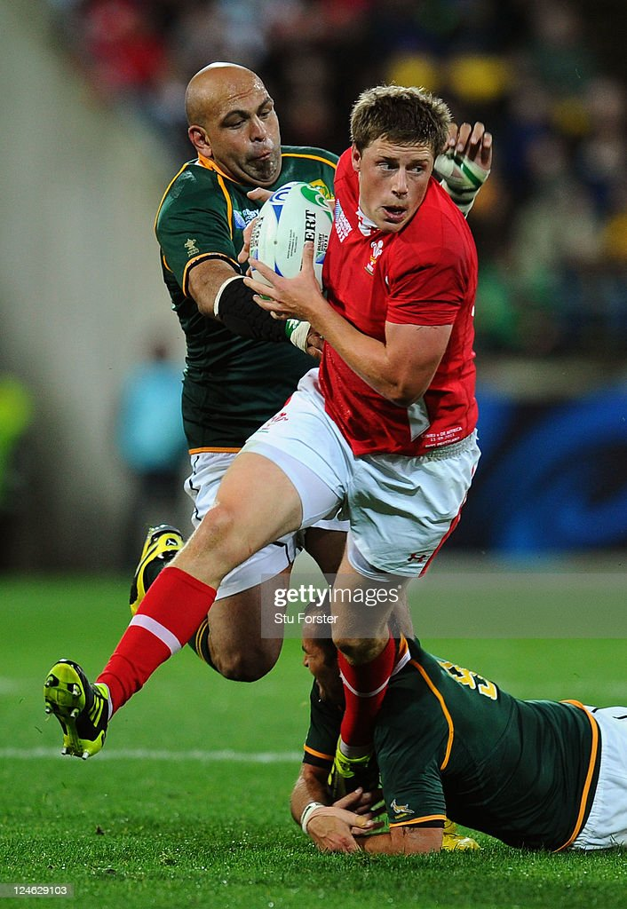 South Africa v Wales - IRB RWC 2011 Match 8