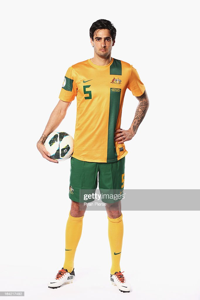 <a gi-track='captionPersonalityLinkClicked' href=/galleries/search?phrase=Rhys+Williams+-+Soccer+Player&family=editorial&specificpeople=13424416 ng-click='$event.stopPropagation()'>Rhys Williams</a> of Australia poses during a Socceroos Portrait Session on March 21, 2013 in Sydney, Australia.