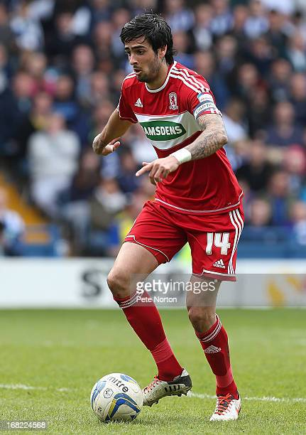 Rhys Williams of Middlesbrough in action during the npower Championship match between Sheffield Wednesday and Middlesbrough at Hillsborough Stadium...