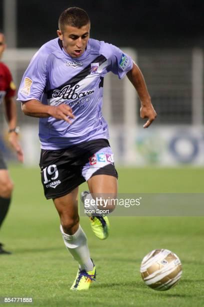 Riad NOURI Istres / Bastia Coupe de la Ligue 2011/2012