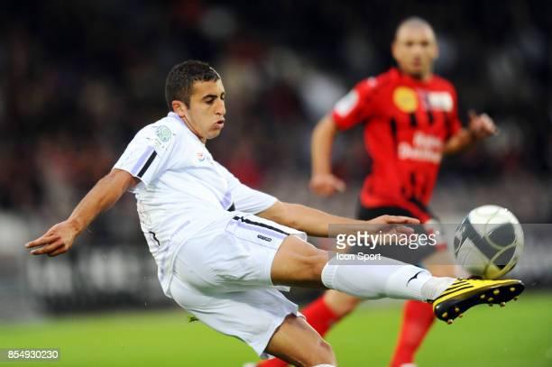 Riad Nouri Boulogne / Istres 5eme journee de Ligue2