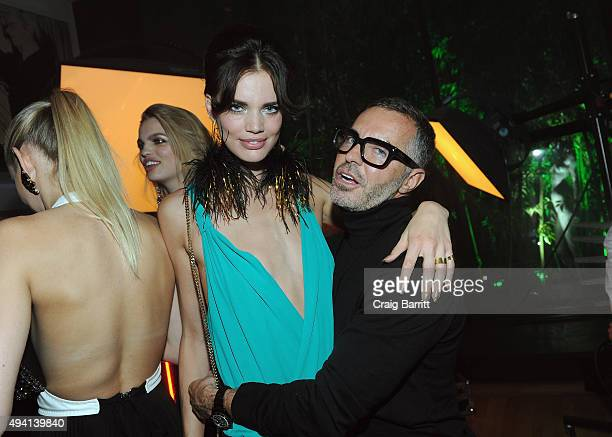 Rianne ten Haken and Dan Caten attend as Dean and Dan Caten celebrate their one year US retail anniversary with a private party at The Halston House...