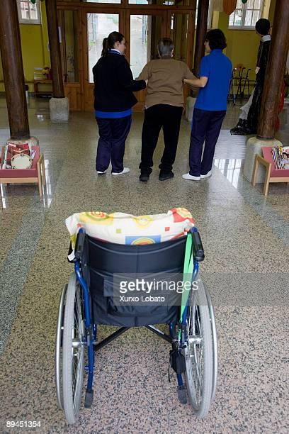 Ribadeo Lugo Day center in Ribadeo Wheelchair Consorcio Galego do Benestar Xunta de Galicia