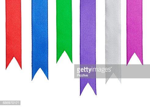 ribbon festive decoration : Stock Photo