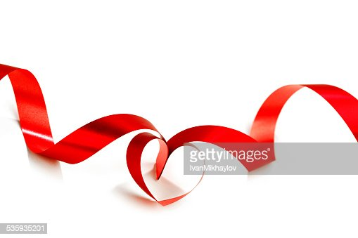 Ribbon heart : Stock Photo