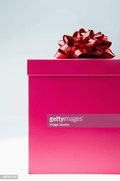 Ribbon on a gift