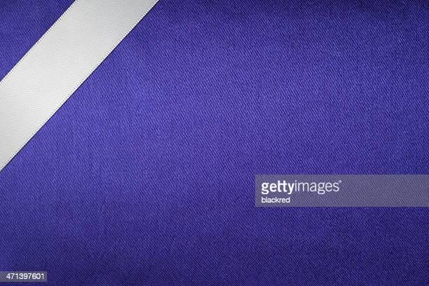 Ribbon on Silk Texture Background