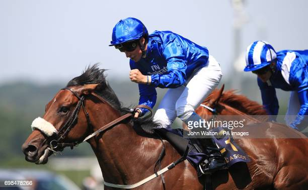 Ribchester ridden by jockey William Buick comes home to win the Queen Anne Stakes during day one of Royal Ascot at Ascot Racecourse