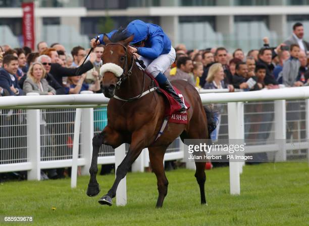Ribchester ridden by William Buick leads the field home to win The Al Shaqab Lockinge Stakes Race run during Al Shaqab Lockinge Day at Newbury...