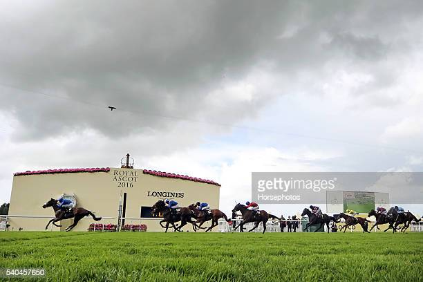 Ribchester with William Buick wins the Jersey Stakes at Royal Ascot Race Course on June 15 2016 in Ascot England
