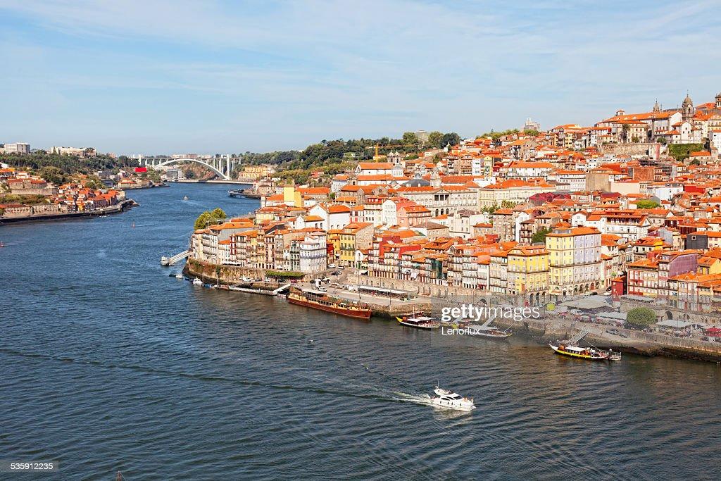 Ribeyr da região, em Porto, Portugal : Foto de stock