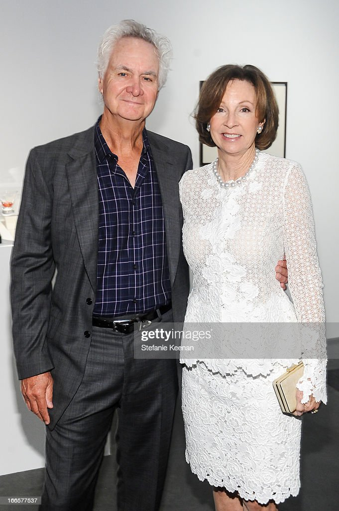 Ric Kayne and Suzanne Kayne attend LACMA's 2013 Collectors Committee - Gala Dinner at LACMA on April 13, 2013 in Los Angeles, California.