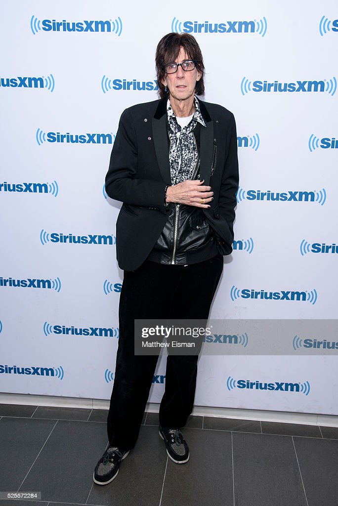 <a gi-track='captionPersonalityLinkClicked' href=/galleries/search?phrase=Ric+Ocasek&family=editorial&specificpeople=569822 ng-click='$event.stopPropagation()'>Ric Ocasek</a> of The Cars visits at SiriusXM Studio on April 28, 2016 in New York City.