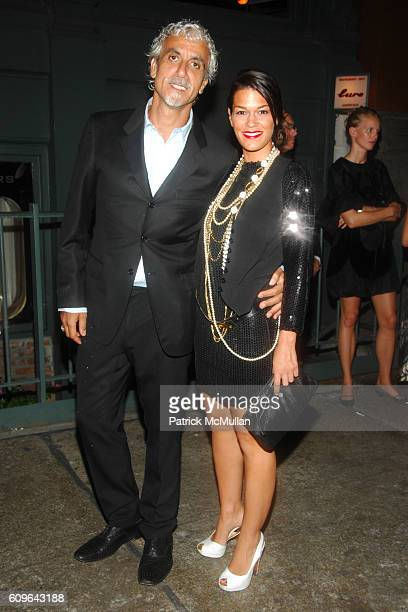 Ric Pipino and Jenne Lombardo attend PRADA New York Epicenter Party with Special Performance by THE HOURS at PRADA Soho on September 7 2007 in New...