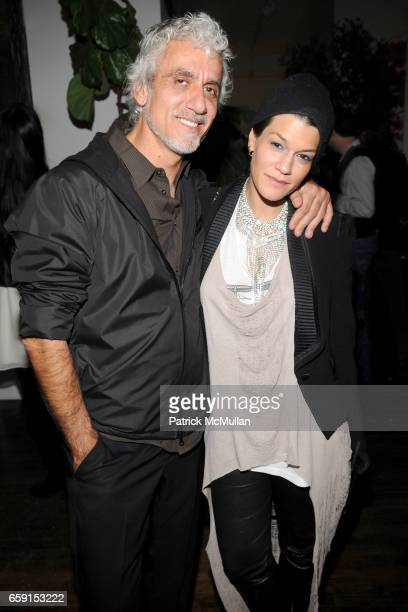 Ric Pipino and Jenne Lombardo attend TEMPERLEY LONDON Fall 2009 Fashion Week Party at Temperly on February 18 2009 in New York City