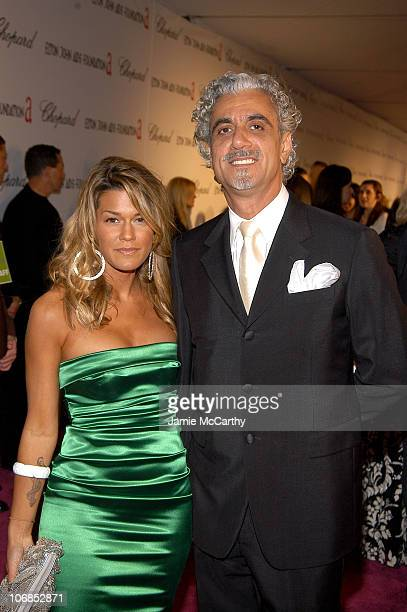 Ric Pipino and Jenne Lombardo during 13th Annual Elton John AIDS Foundation Oscar Party Cohosted by Chopard Red Carpet at Pacific Design Center in...