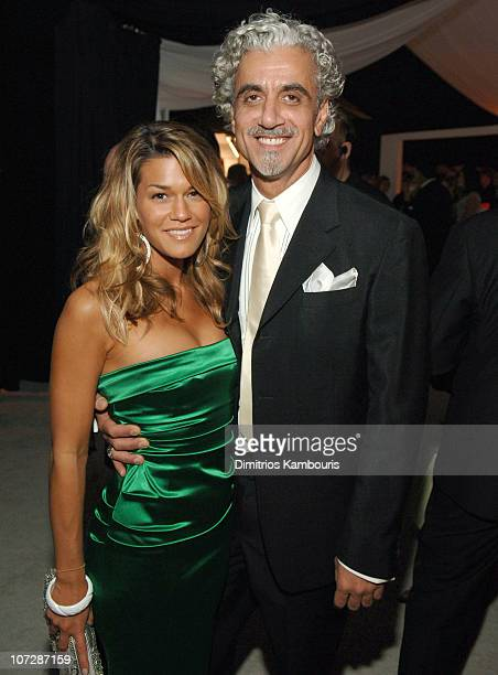 Ric Pipino and Jenne Lombardo during 13th Annual Elton John AIDS Foundation Oscar Party Cohosted by Chopard After Party at Pacific Design Center in...