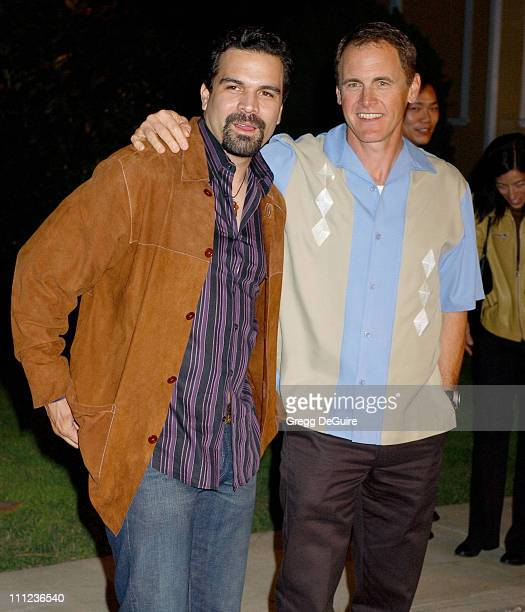 Ricardo Antonio Chavira and Mark Moses during 2005 ABC Winter Press Tour Party Arrivals at Universal Studios in Universal City California United...