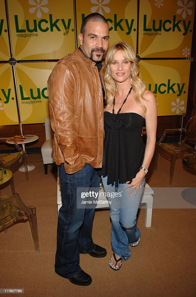 Ricardo Antonio Chavira and Nicollette Sheridan during The Lucky Magazine Club 2006 Day 1 at The Ritz Carlton Central Park South in New York City New...