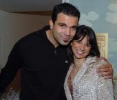Ricardo Antonio Chavira of 'Deperate Houswives' and Cathy Areu Catalina Magazine publisher