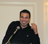 Ricardo Antonio Chavira of 'Desperate Housewives' during Catalina Magazine Afternoon Tea with Ricardo Antonio Chavira at The Carlyle Hotel in New...