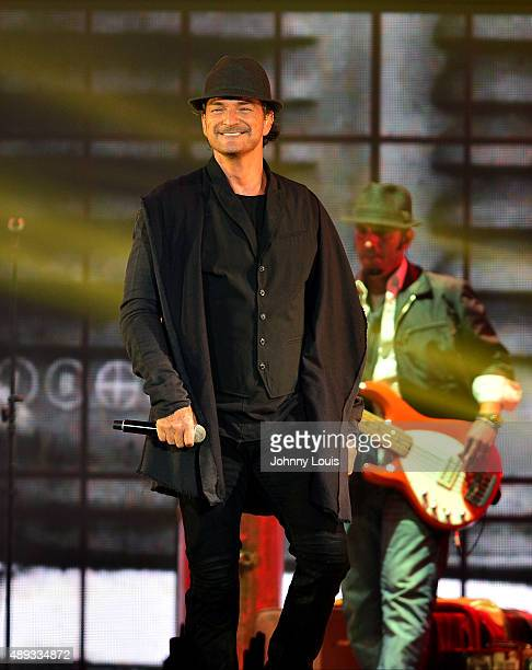 Ricardo Arjona performs at American Airlines Arena on September 19 2015 in Miami Florida