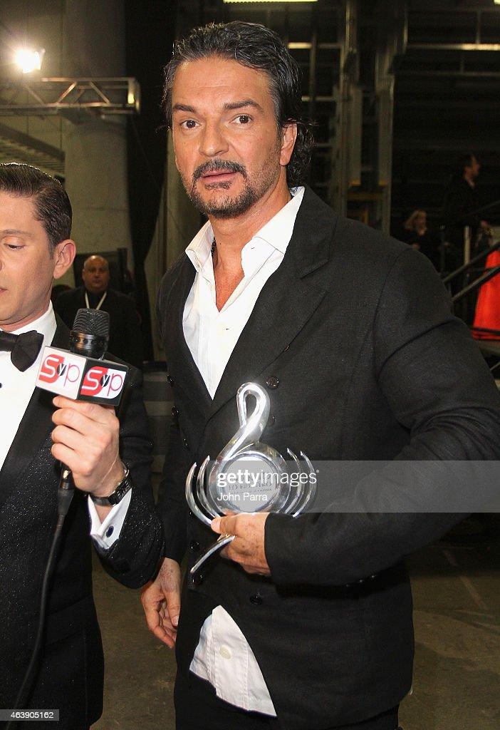 2015 Premios Lo Nuestros Awards - Backstage