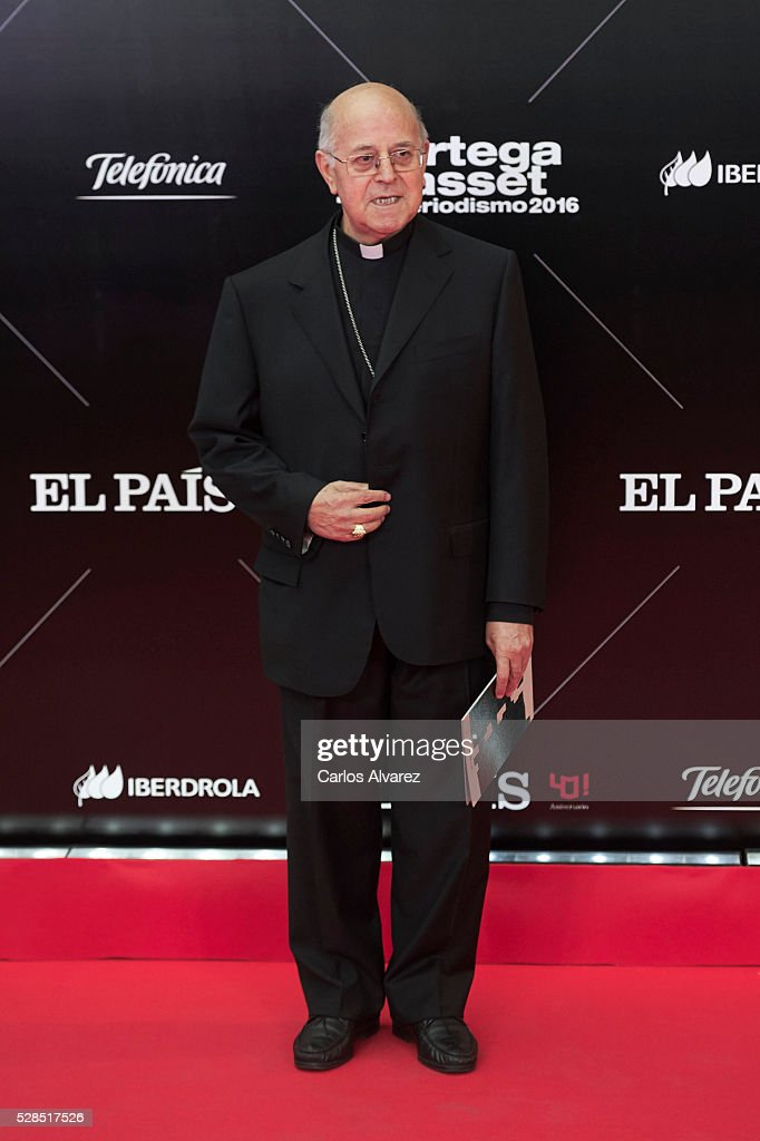 Ricardo Blazquez attends 'Ortega Y Gasset' journalism awards 2016 at Palacio de Cibeles on May 05, 2016 in Madrid, Spain.