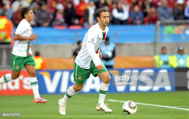 Ricardo CARVALHO Cote d'Ivoire / Portugal Coupe du Monde 2010 Match 13 Groupe G Nelson Mandela Bay Stadium Port Elizabeth Afrique du Sud Photo Dave...