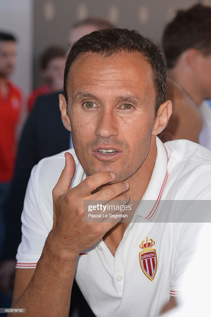 Ricardo Carvalho attends the AS Monaco football club flagship store opening on July 31 2014 in Monaco Monaco