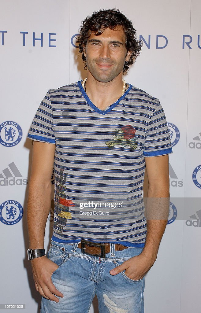 Ricardo Carvalho during Chelsea FC, Adidas & William Morris Agency Host 'The Hit The Ground Running Party' - Arrivals at The Skybar @ Mondrian Hotel in West Hollywood, California, United States.