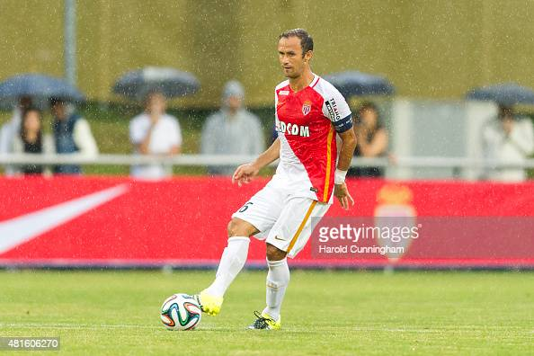 Ricardo Carvalho of AS Monaco in action during the preseason friendly match between 1 FSV Mainz 05 and AS Monaco at Stade des Arberes on July 22 2015...