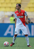 Ricardo Carvalho of Monaco in action during the French Ligue 1 match between AS Monaco FC and LOSC Lille at Louis II Stadium on August 30 2014 in...