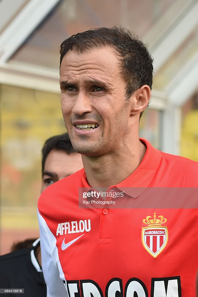 Ricardo Carvalho of Monaco is seen prior to the French Ligue 1 match between AS Monaco FC and LOSC Lille at Louis II Stadium on August 30 2014 in...