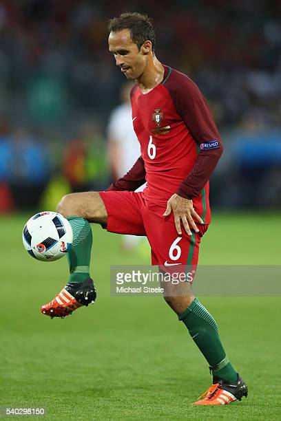 Ricardo Carvalho of Portugal during the UEFA EURO 2016 Group F match between Portugal and Iceland at Stade GeoffroyGuichard on June 14 2016 in...