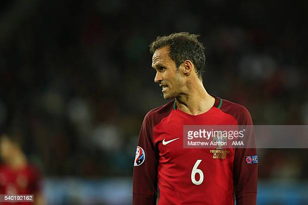 Ricardo Carvalho of Portugal in action during the UEFA EURO 2016 Group F match between Portugal and Iceland at Stade GeoffroyGuichard on June 14 2016...