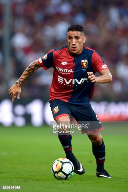 Ricardo Centurion of Genoa CFC in action during the Serie A football match between Genoa CFC and Juventus FC Juventus FC wins 42 over Genoa CFC