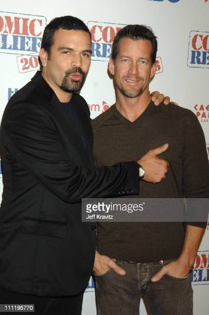 Ricardo Chavira and James Denton during HBO AEG Live's 'The Comedy Festival' Comic Relief 2006 Red Carpet at Caesars Palace in Las Vegas Nevada...