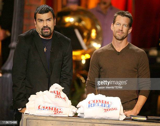 Ricardo Chavira and James Denton during HBO AEG Live's 'The Comedy Festival' Comic Relief 2006 Show at Caesars Palace in Las Vegas Nevada United...