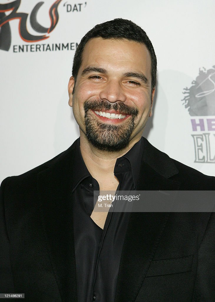 Ricardo Chavira during Heavyweight Fight at the Playboy Mansion Tony The Tiger Thompson vs Timor Ibragimov Arrivals at Playboy Mansion in BelAir...
