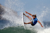 Ricardo Christie of New Zealand surfs during Round 3 at the Oi Rio Pro on May 15 2015 in Rio de Janeiro Brazil