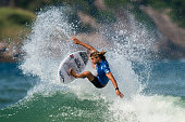 Ricardo Christie of New Zeland surfs during his Round 3 heat at the Oi Rio Pro on May 15 2015 in Rio de Janeiro Brazil