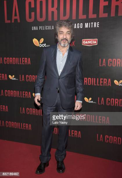 Ricardo Darin attends the premiere of 'La Cordillera' at the Hoyts Shopping Dot cinema on August 15 2017 in Buenos Aires Argentina