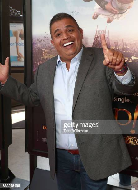 Ricardo 'El Mandrill' Sanchez attends the premiere Of The Weinstein Company's 'Leap' at Pacific Theatres at The Grove on August 19 2017 in Los...