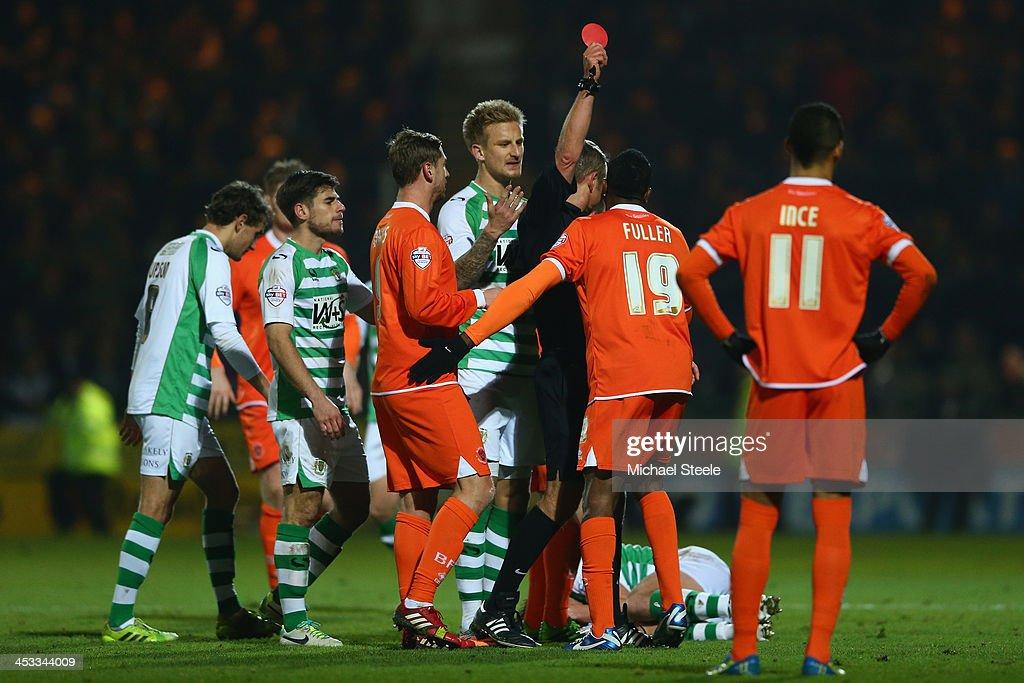 Yeovil Town v Blackpool - Sky Bet Championship