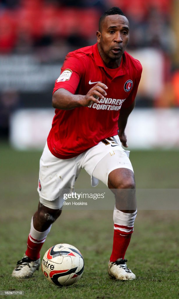 <a gi-track='captionPersonalityLinkClicked' href=/galleries/search?phrase=Ricardo+Fuller&family=editorial&specificpeople=240619 ng-click='$event.stopPropagation()'>Ricardo Fuller</a> of Charlton in action during the npower Championship match between Charlton Athletic and Burnley at the Valley on March 02, 2013 in London, England.