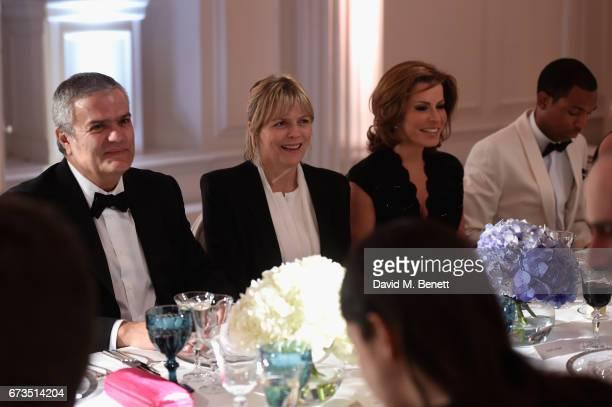 Ricardo Guadalupe Carol Woolton and Natasha Kaplinsky attend Hublot 'Classic Fusion Chronograph Prince's Trust' launch at The Orangery Kensington...